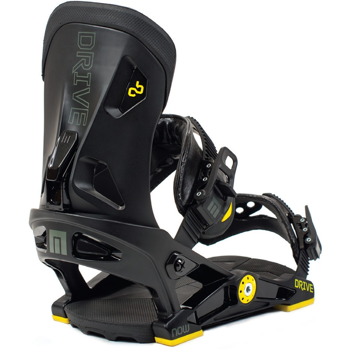 Now Drive Snowboard Bindings 2015 - Black / Yellow