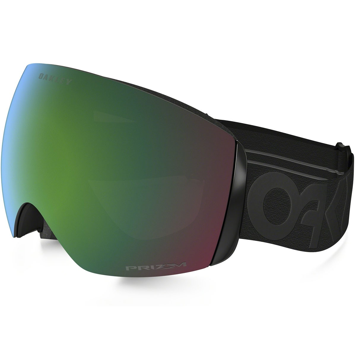 snowboarding oakley goggles  Flight Deck Snowboard Goggles - Factory Pilot Blackout/Prizm Jade