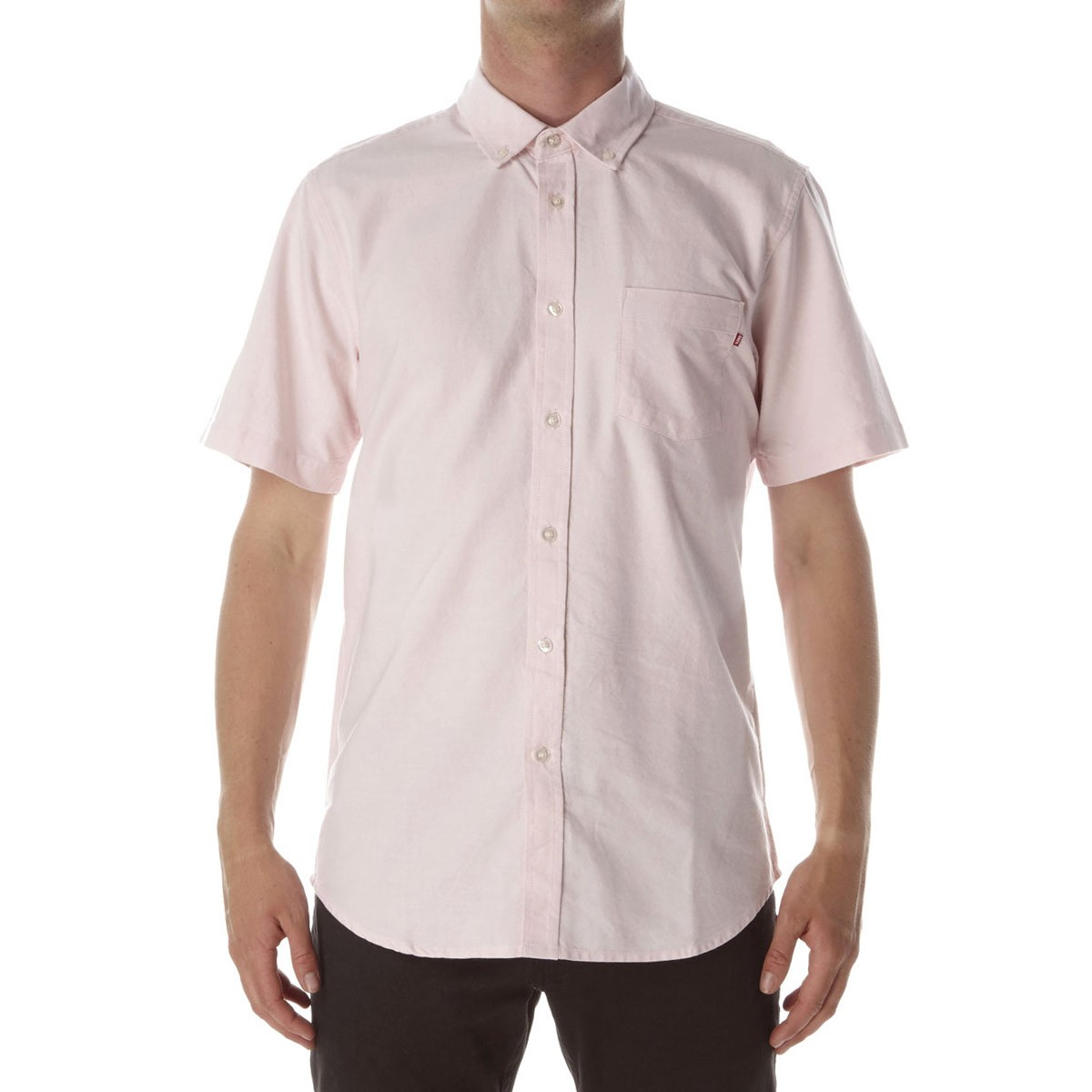Obey Dissent Trait Woven Shirt - Pink