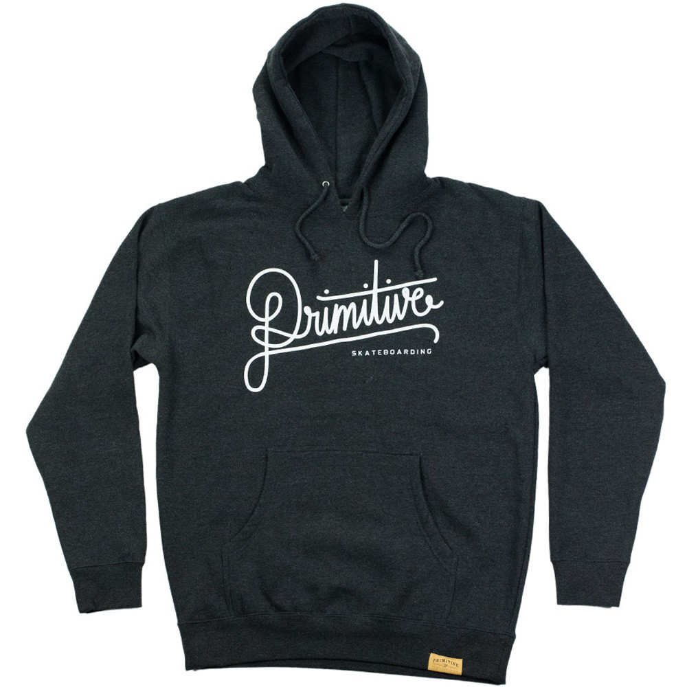 Primitive Apparel Longhand Pullover Hoodie - Charcoal Heather