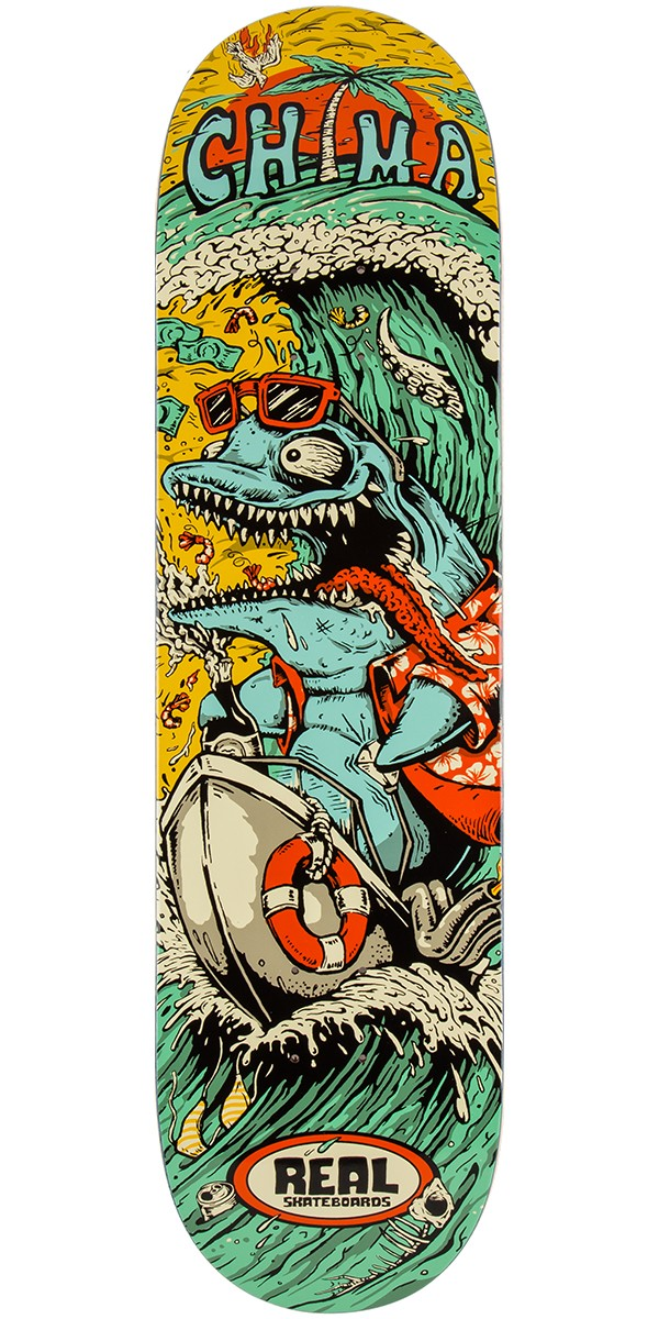 Real Ferguson Burnouts Skateboard Deck - 8.4""