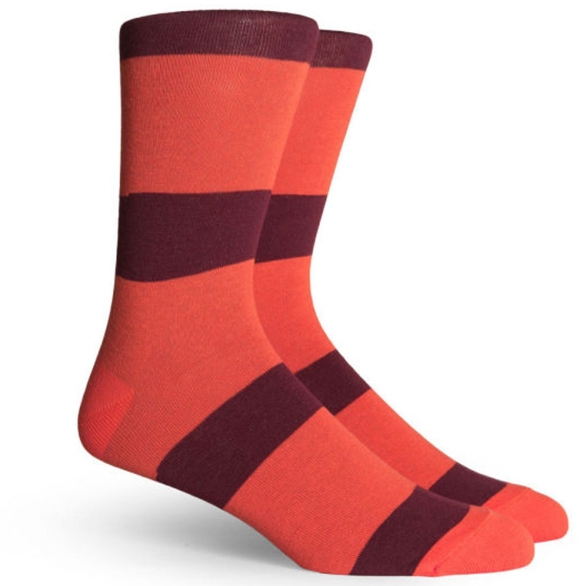Richer Poorer London Socks - Orange