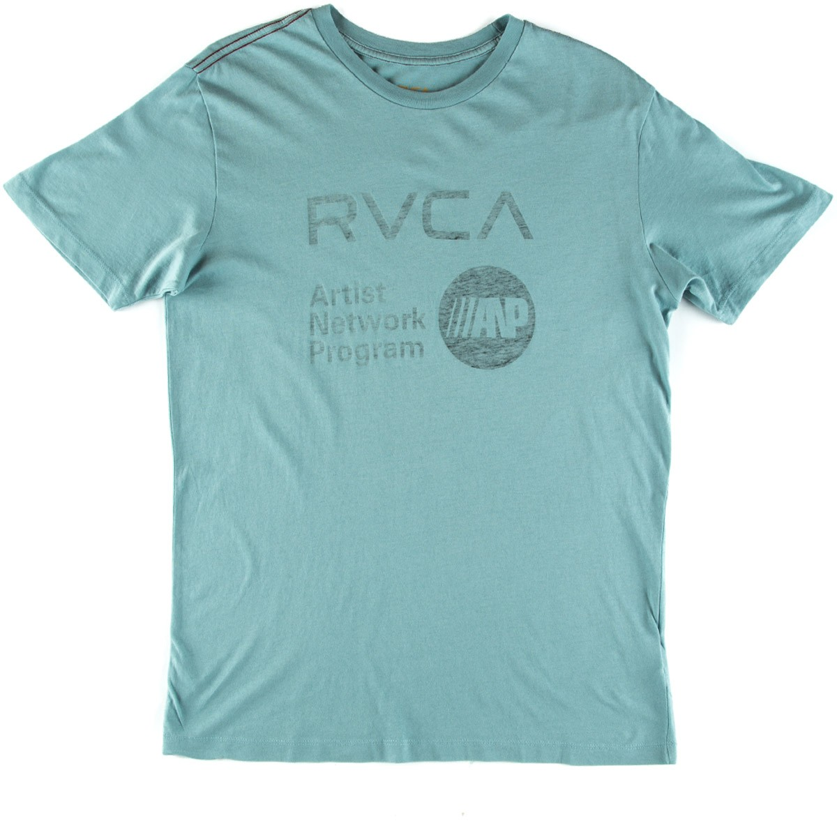 RVCA ANP Reverse T-Shirt - Blue Grey