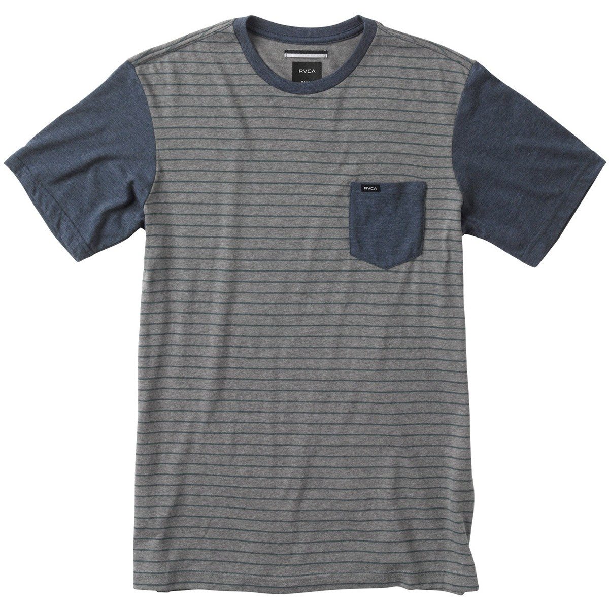 RVCA Change Up T-Shirt - Grey Noise/Midnight