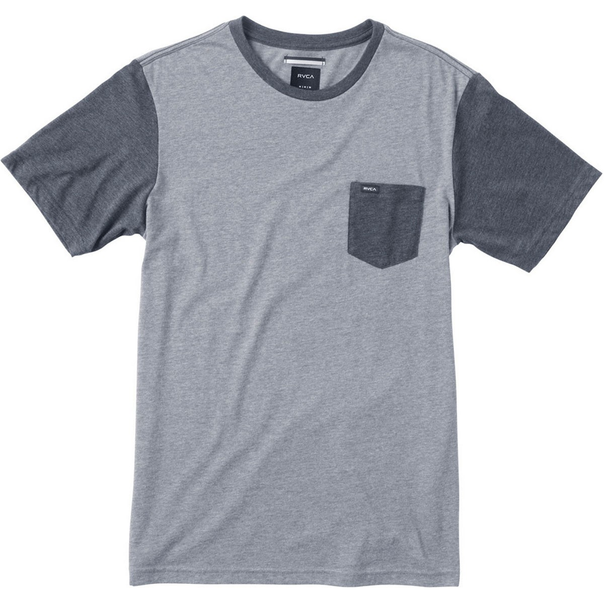 RVCA Change Up T-Shirt - Grey Noise