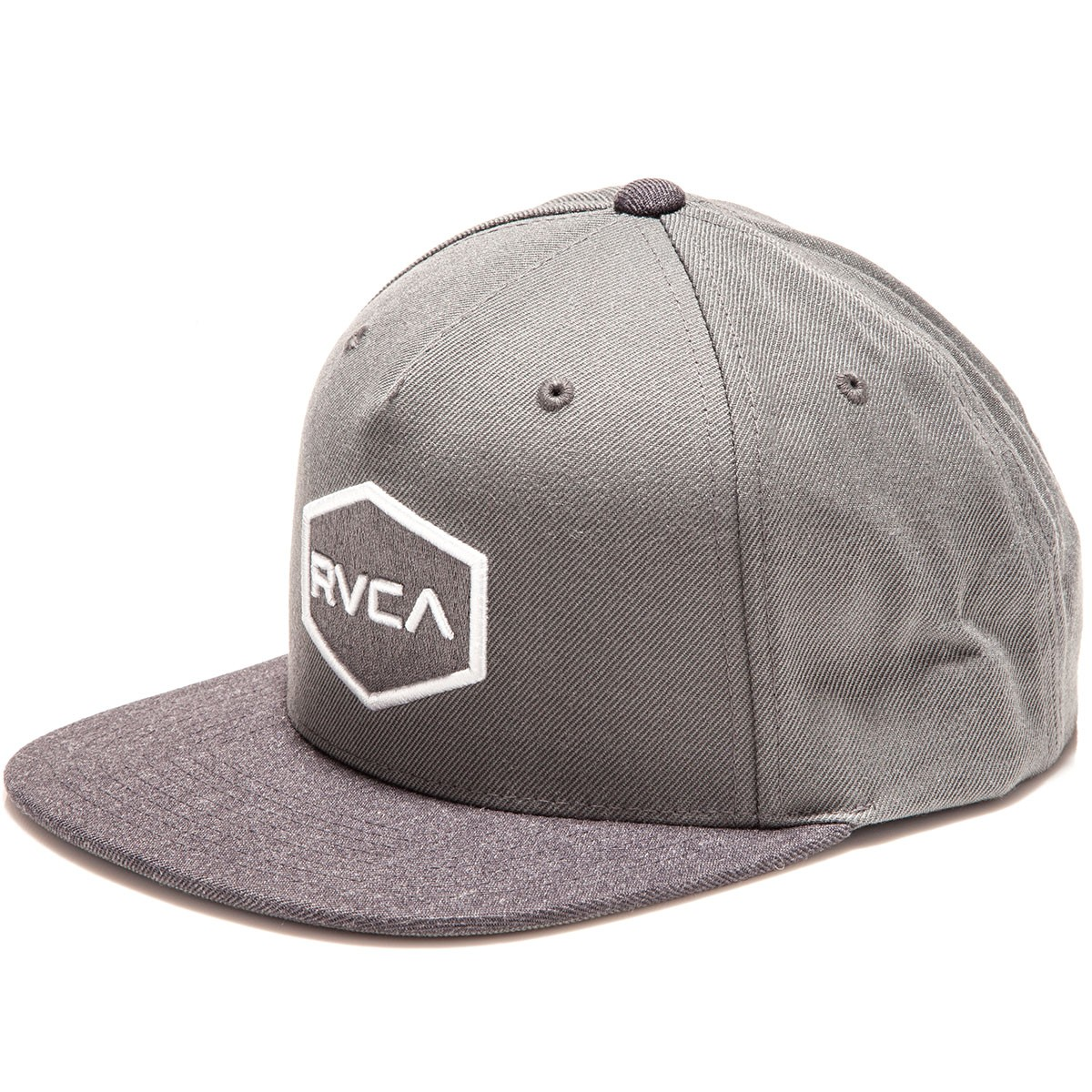 various colors f8c6d 6fbb2 RVCA Commonwealth II Snapback Hat - Grey