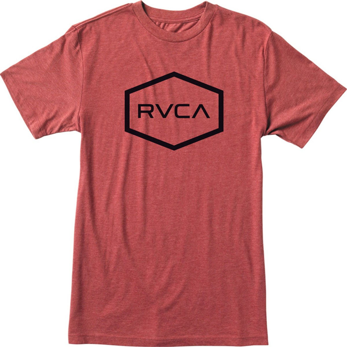 Rvca hexed youth t shirt brick red for Rvca t shirt dress