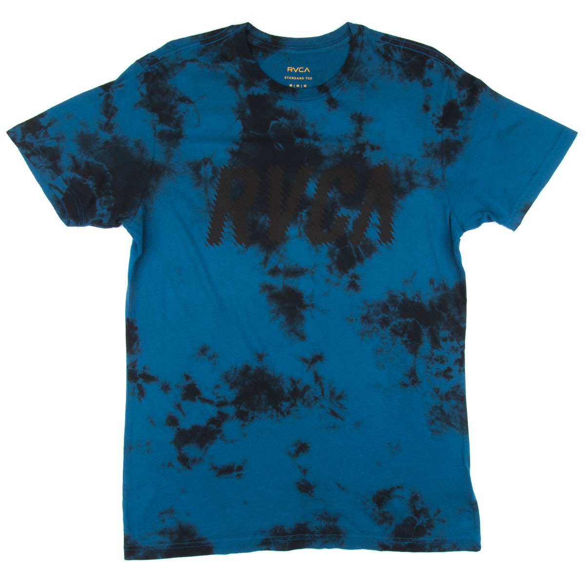 Rvca jagged rvca t shirt french blue for French blue t shirt