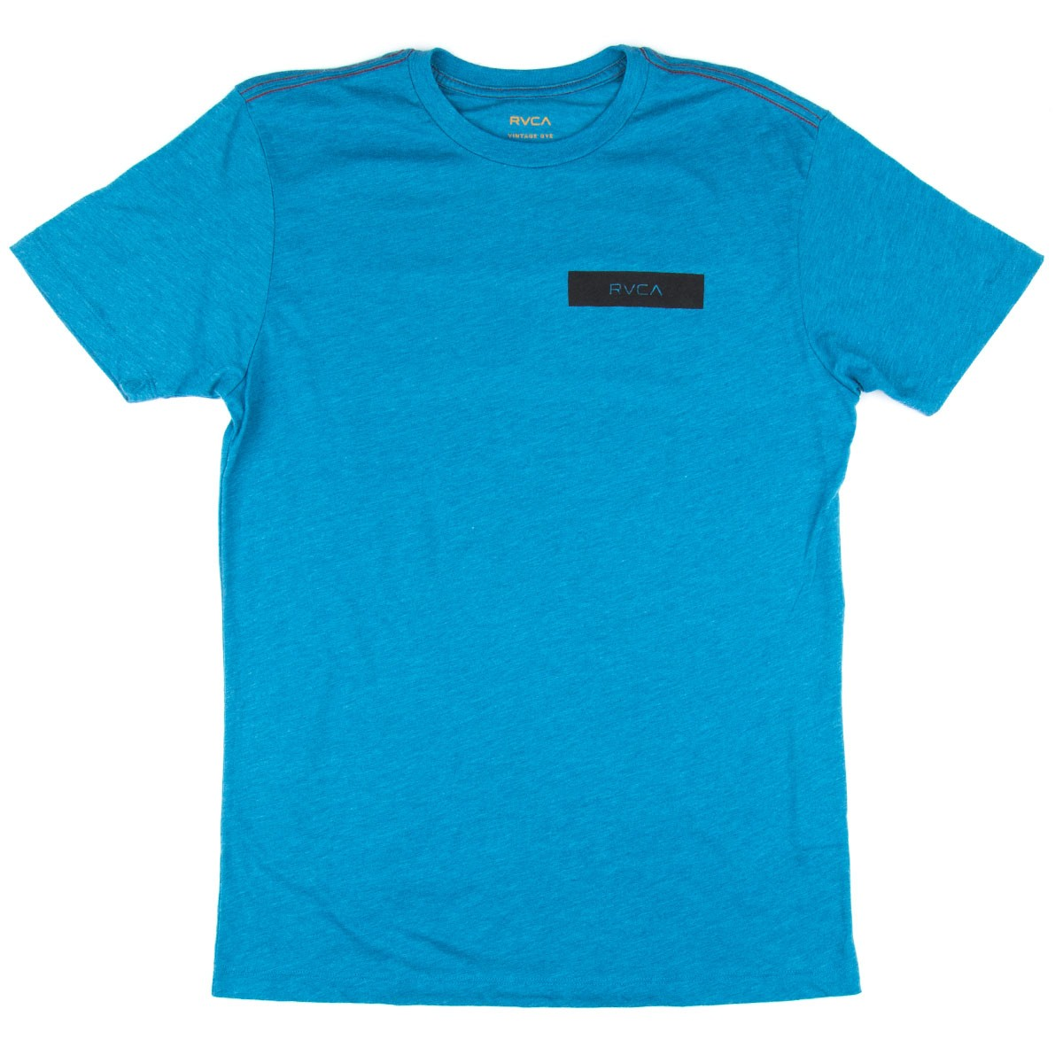 Rvca rvca bars t shirt french blue for French blue t shirt