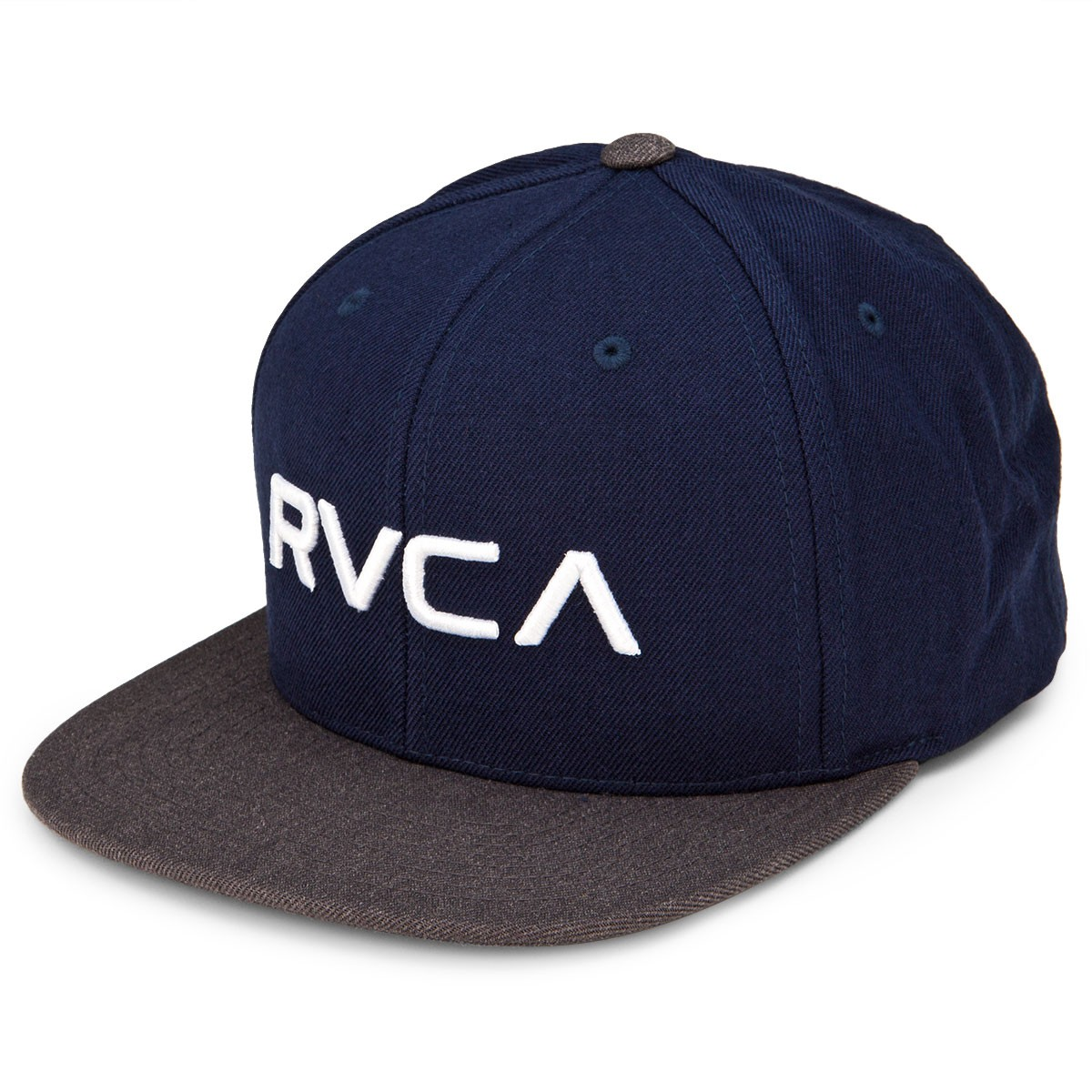 official photos 8b764 93368 coupon for rvca twill snapback iii blue grey hat 3a4d4 8f80c  shop rvca  rvca twill snapback hat 1902a 93317