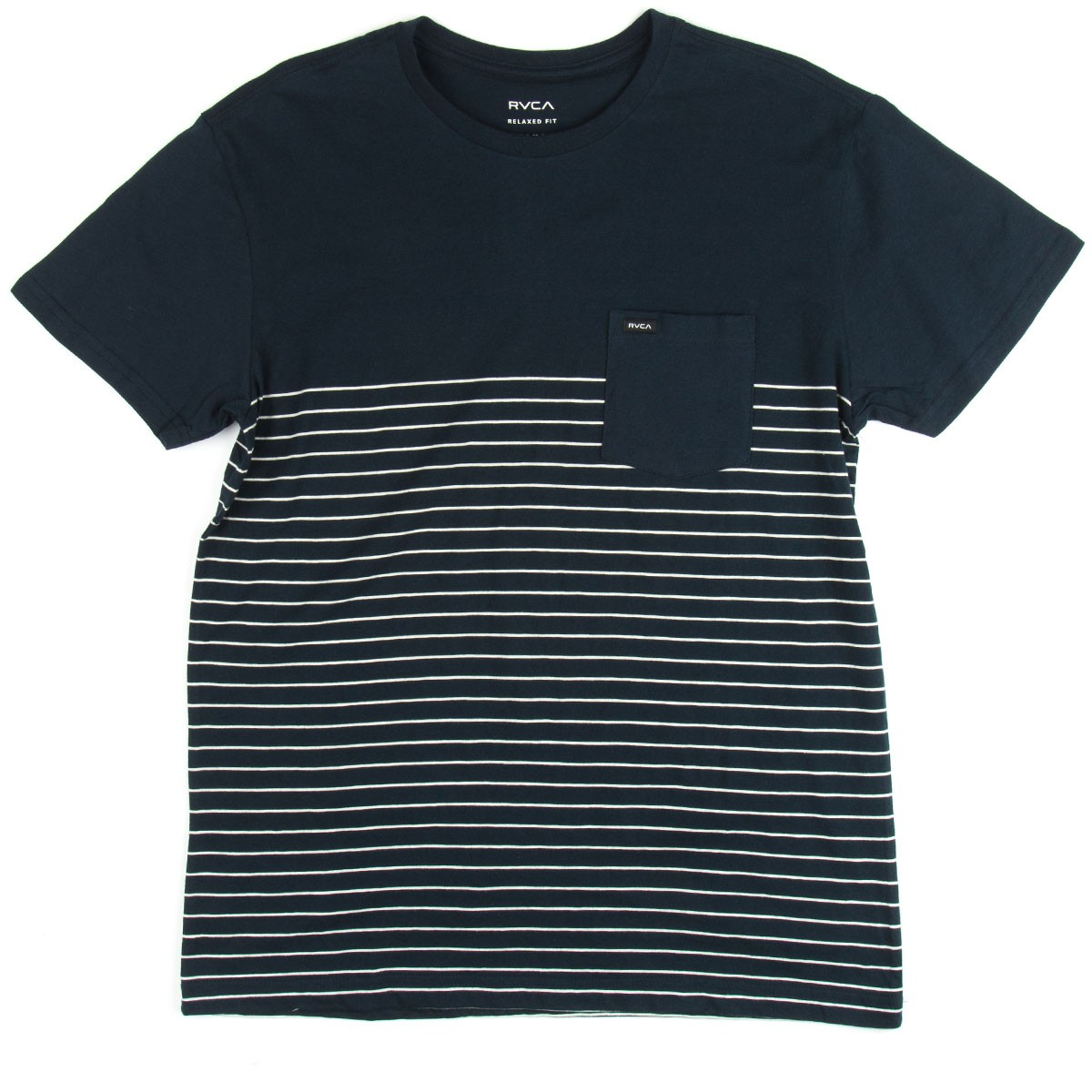 RVCA Switch Up Crew T-Shirt - Carbon