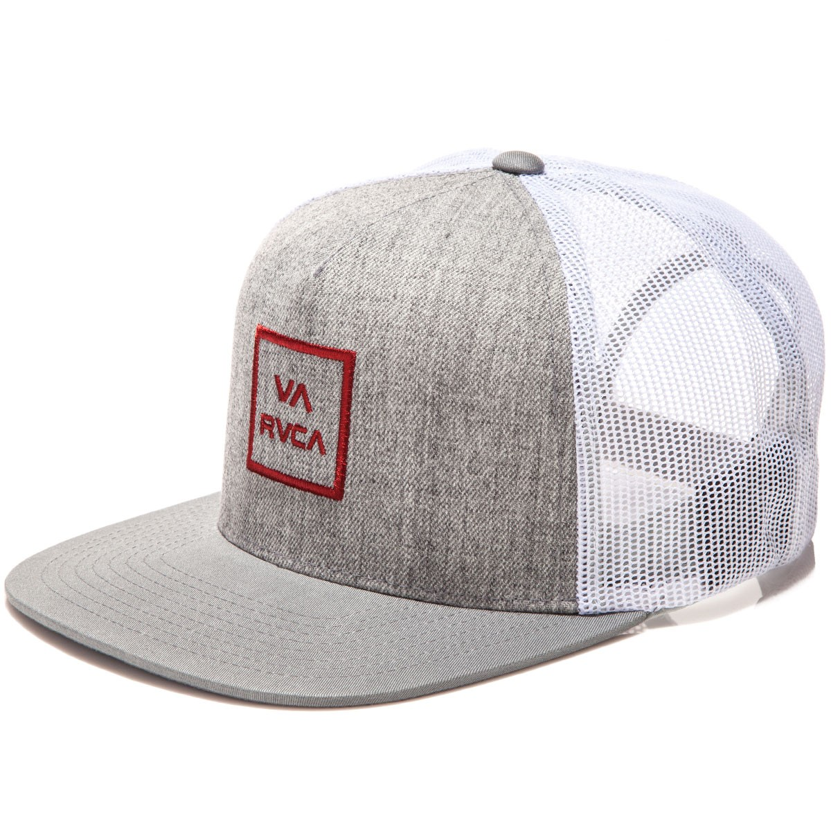 RVCA VA All The Way Trucker Hat - Athletic/Red