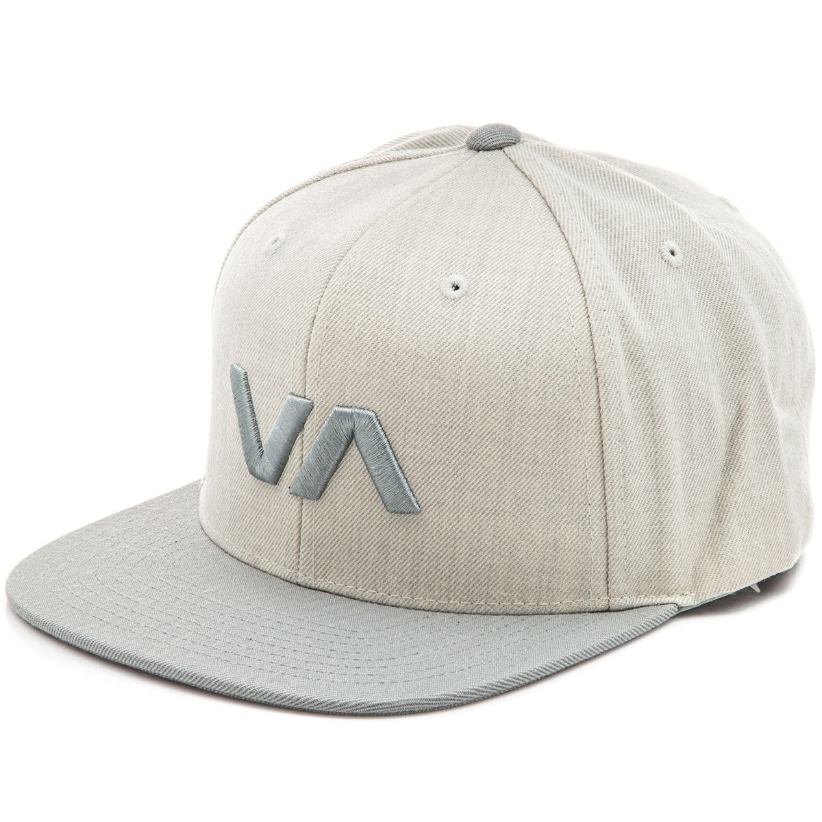 RVCA VA II Snapback Hat - Khaki Heather