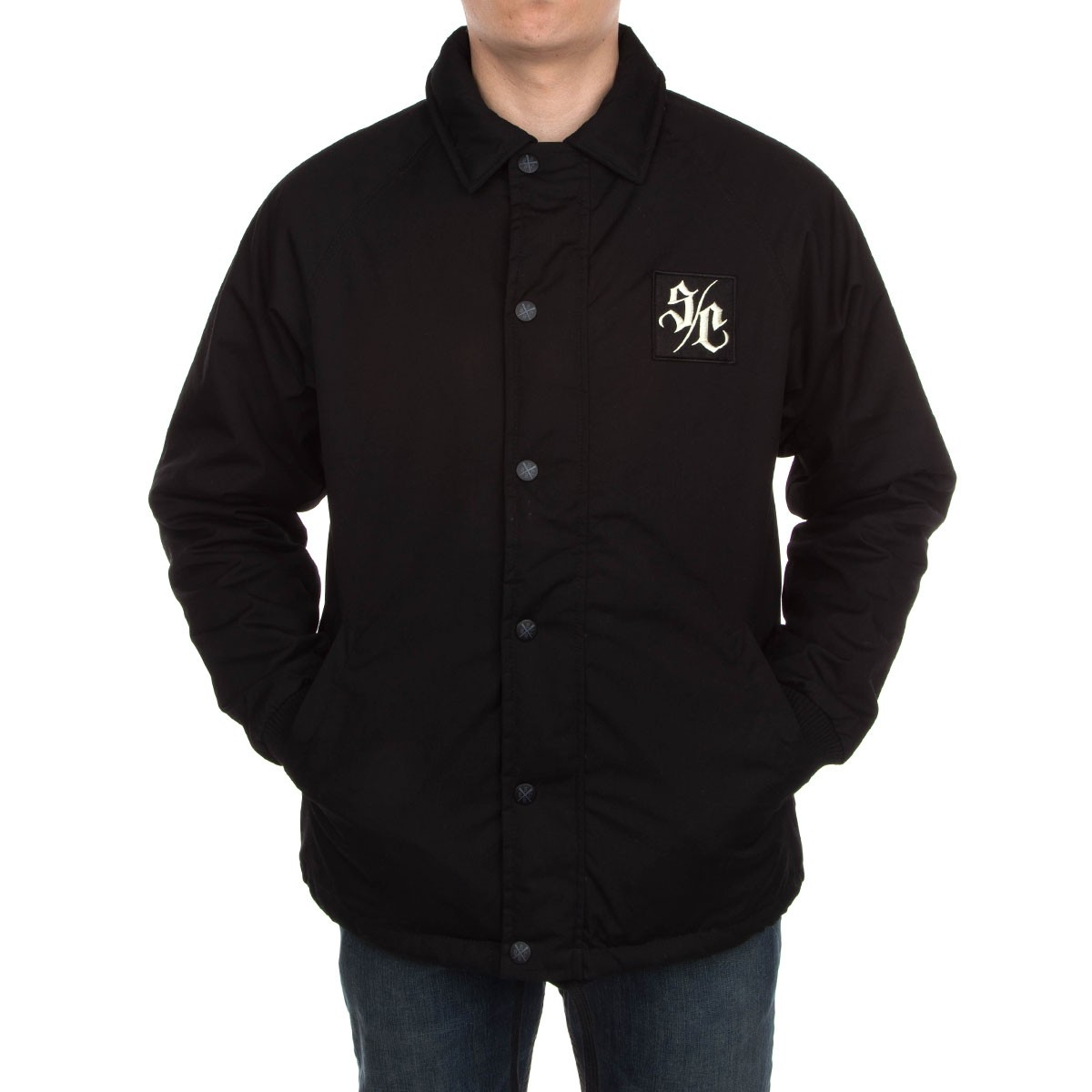Santa Cruz Mac Coach Jacket - Black