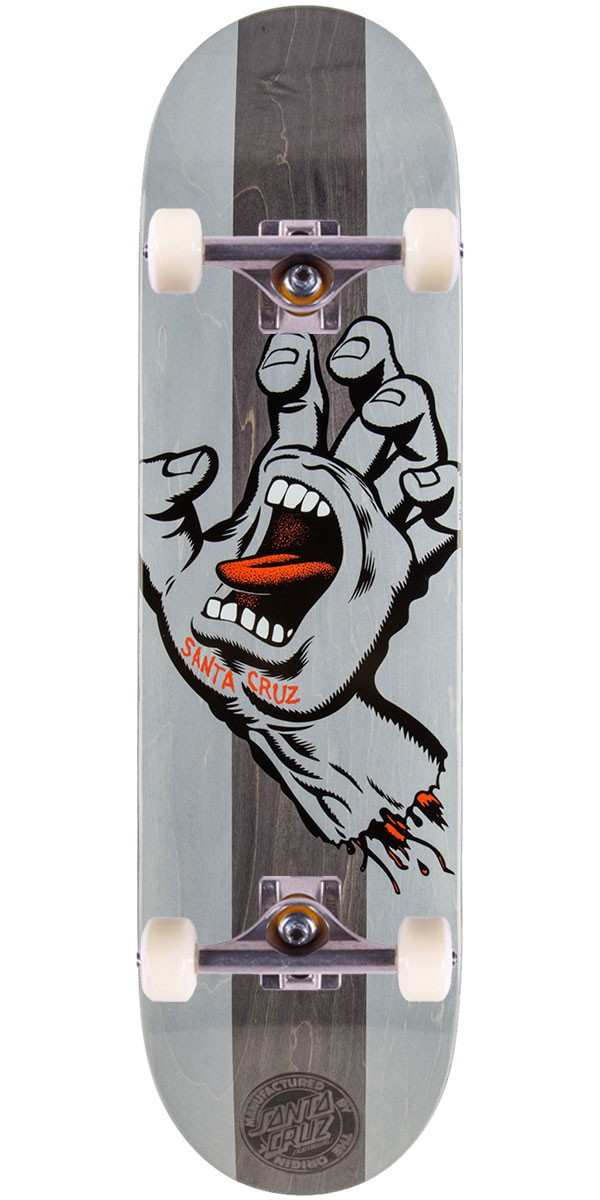 Santa Cruz Stained Hand Skateboard Complete - 8.5""