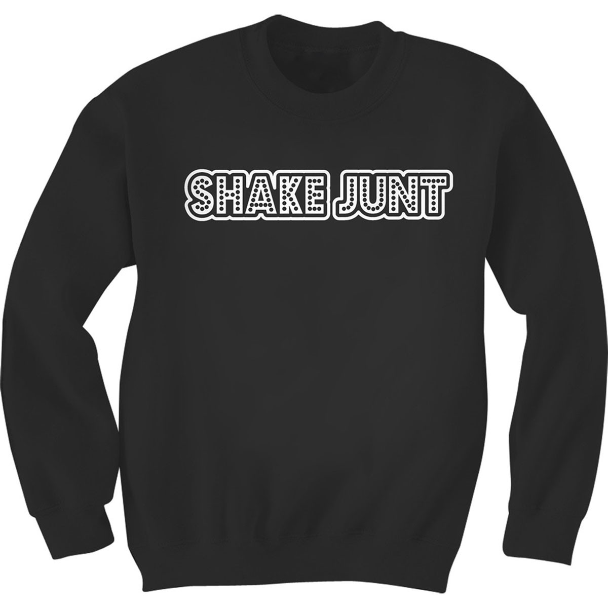 Shake Junt Stretch Logo Sweatshirt - Black/White