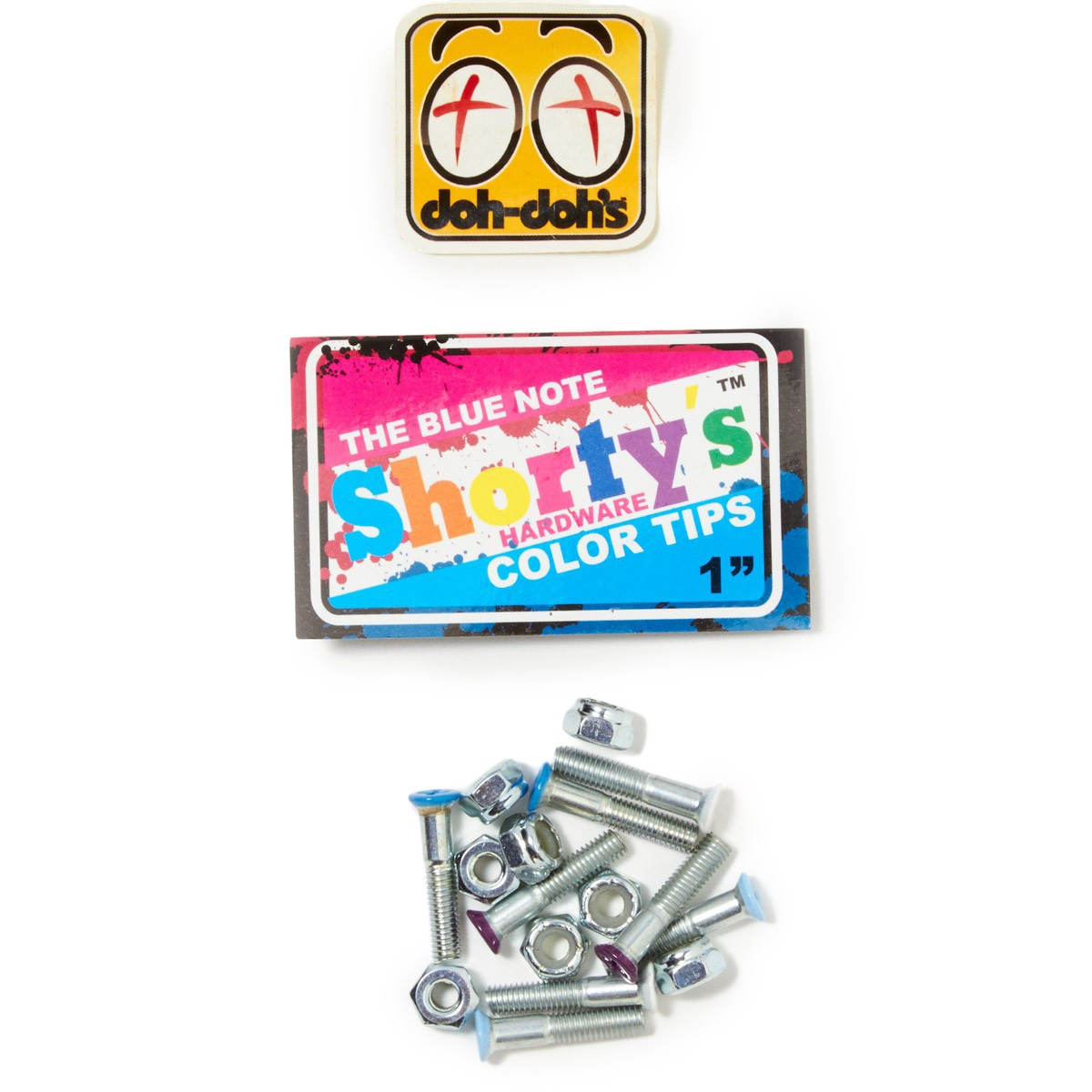 "Shorty's 1"" Color Hardware - Blue Note"