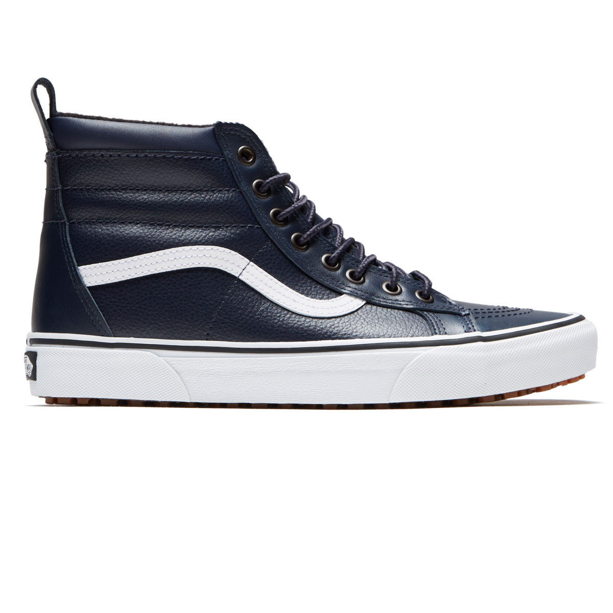 e73f636af5d605 Vans Sk8-Hi MTE Shoes - Sky Captain Leather - 8.0