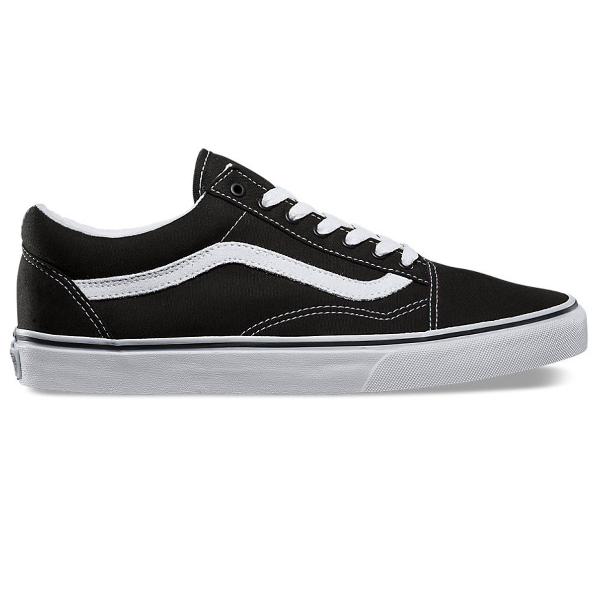 52fbe0062a6ff Vans Old Skool Core Classic Shoes - Black/White - 8.5