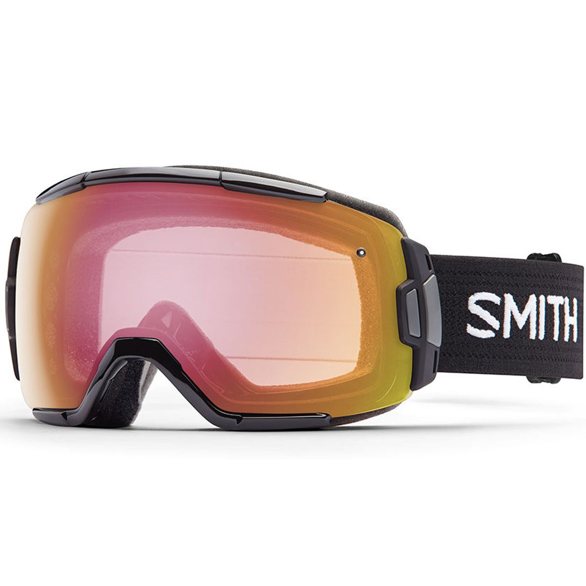 Smith Vice Snowboard Goggles - Black with Red Sensor Mirror