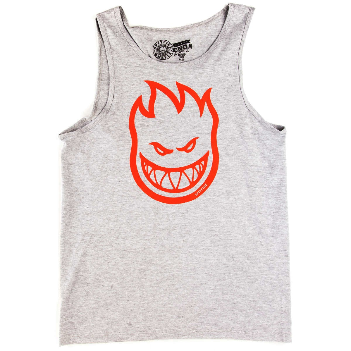Spitfire Bighead Tank Top - Athletic Heather