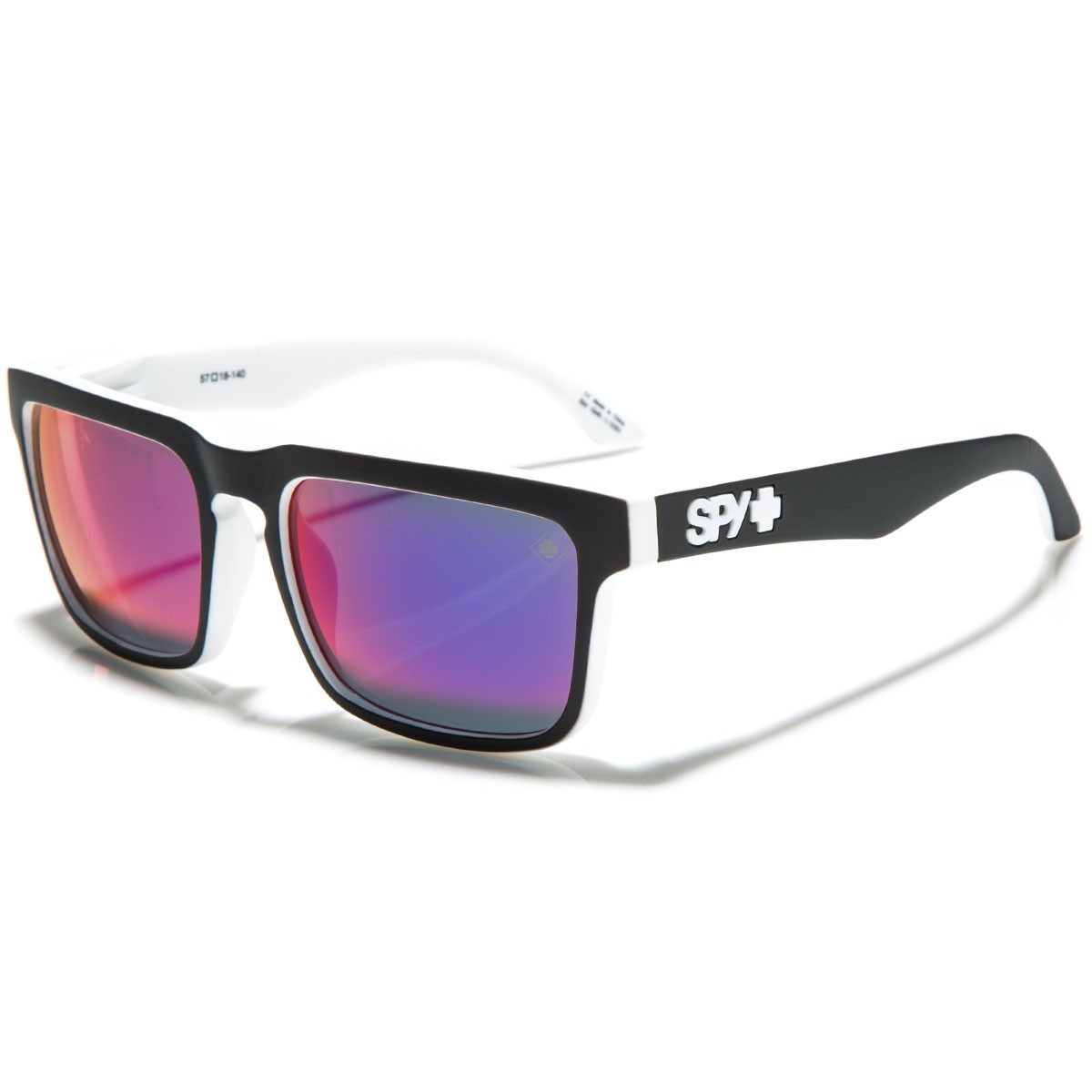 Spy Helm Sunglasses - Whitewall/Grey with Navy Spectra