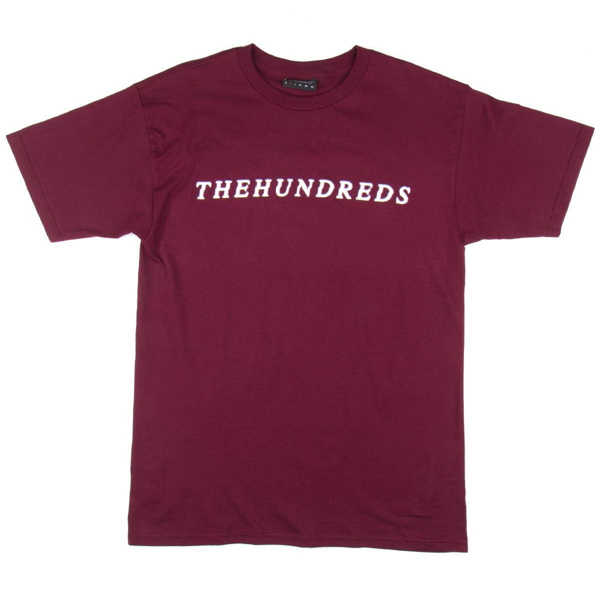 The Hundreds Cut T-Shirt - Burgundy