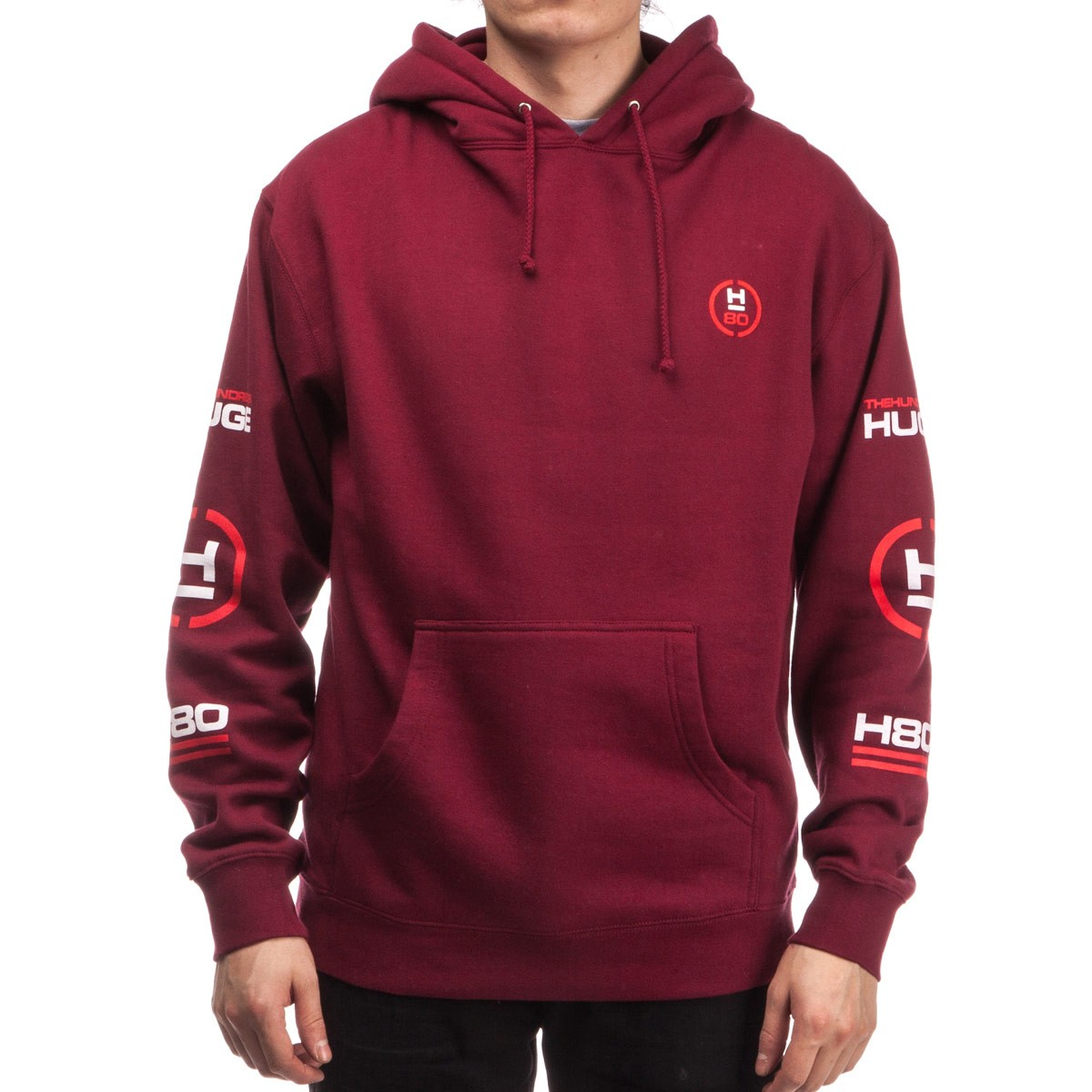 Water Hundreds Pullover - Wide Cardinal The Hoodie