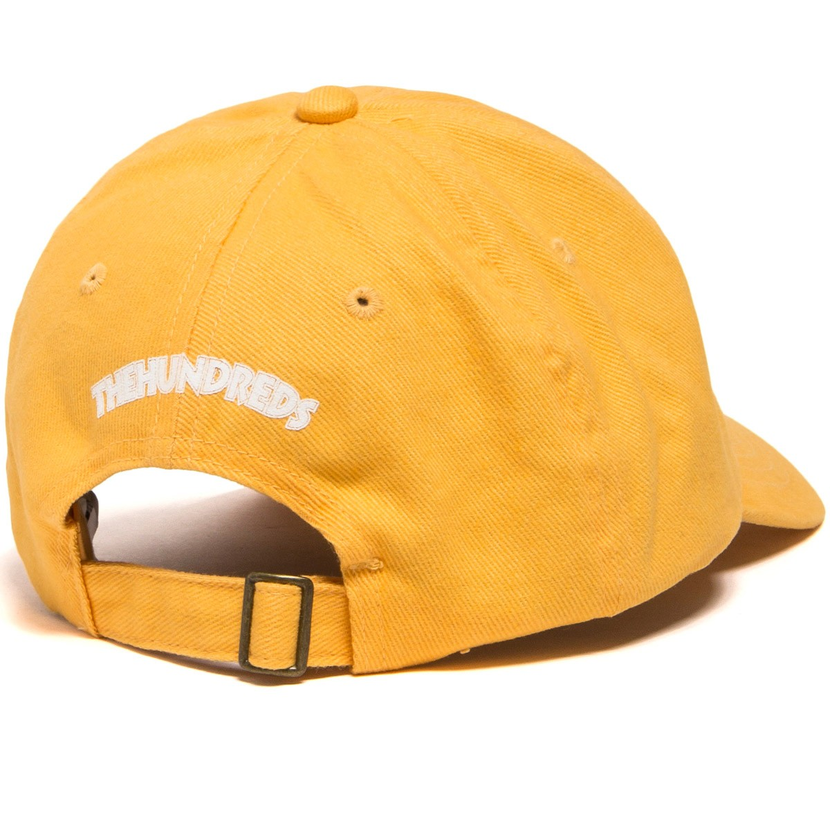 6951288b7c820 The Hundreds X Death Row Executioner Dad Hat - Yellow