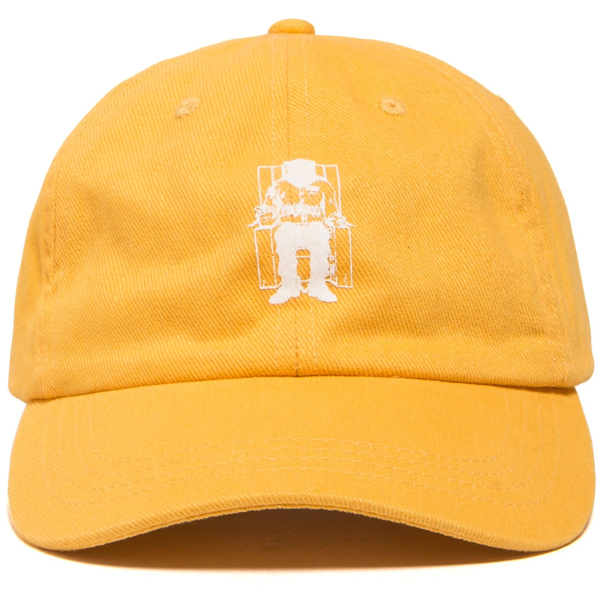 The Hundreds X Death Row Executioner Dad Hat - Yellow c606a725bb6