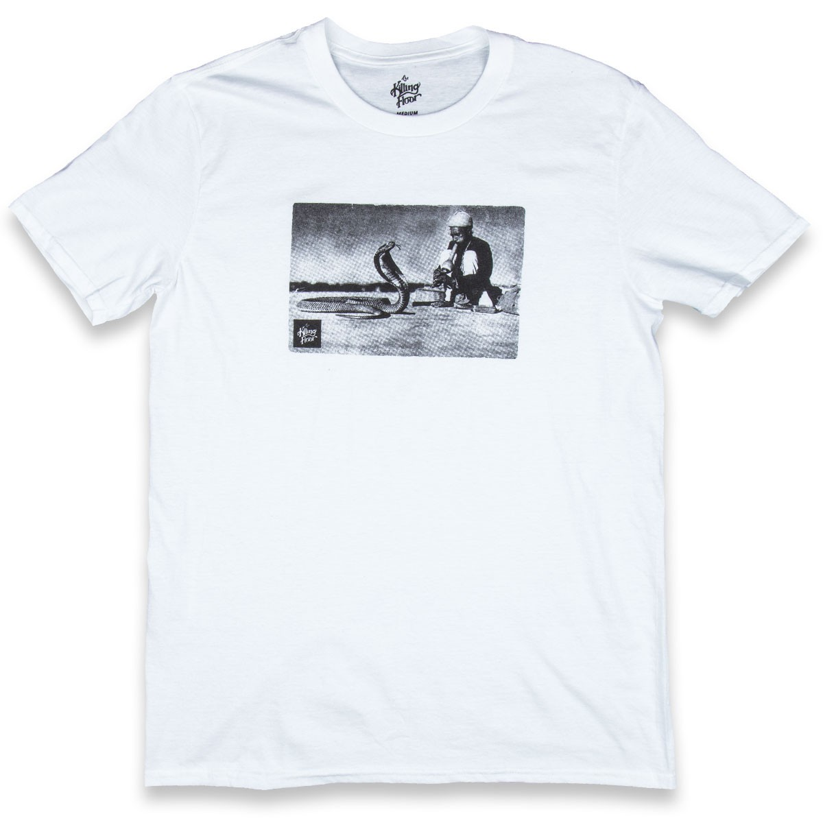 The Killing Floor Snake Charmer T-Shirt - White