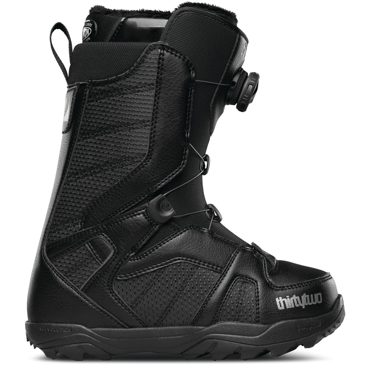 Thirty Two STW Boa Womens 2015 Snowboard Boots - Black
