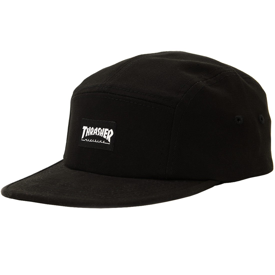c2940e5a230 Thrasher 5 Panel Hat - Black