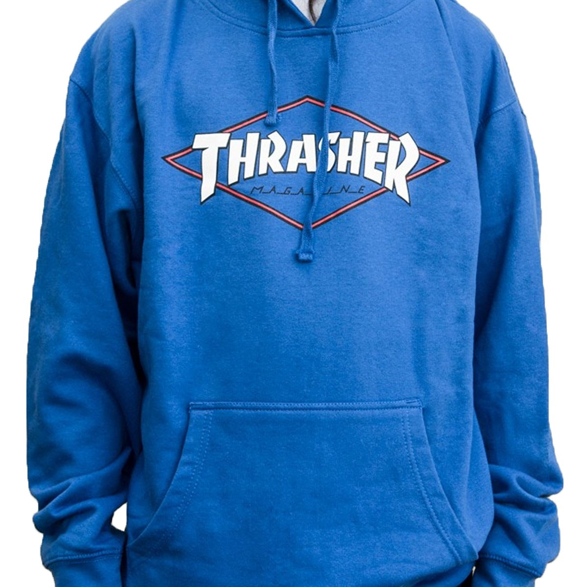 Thrasher OG Diamond Logo Pullover Sweatshirt - Royal Blue