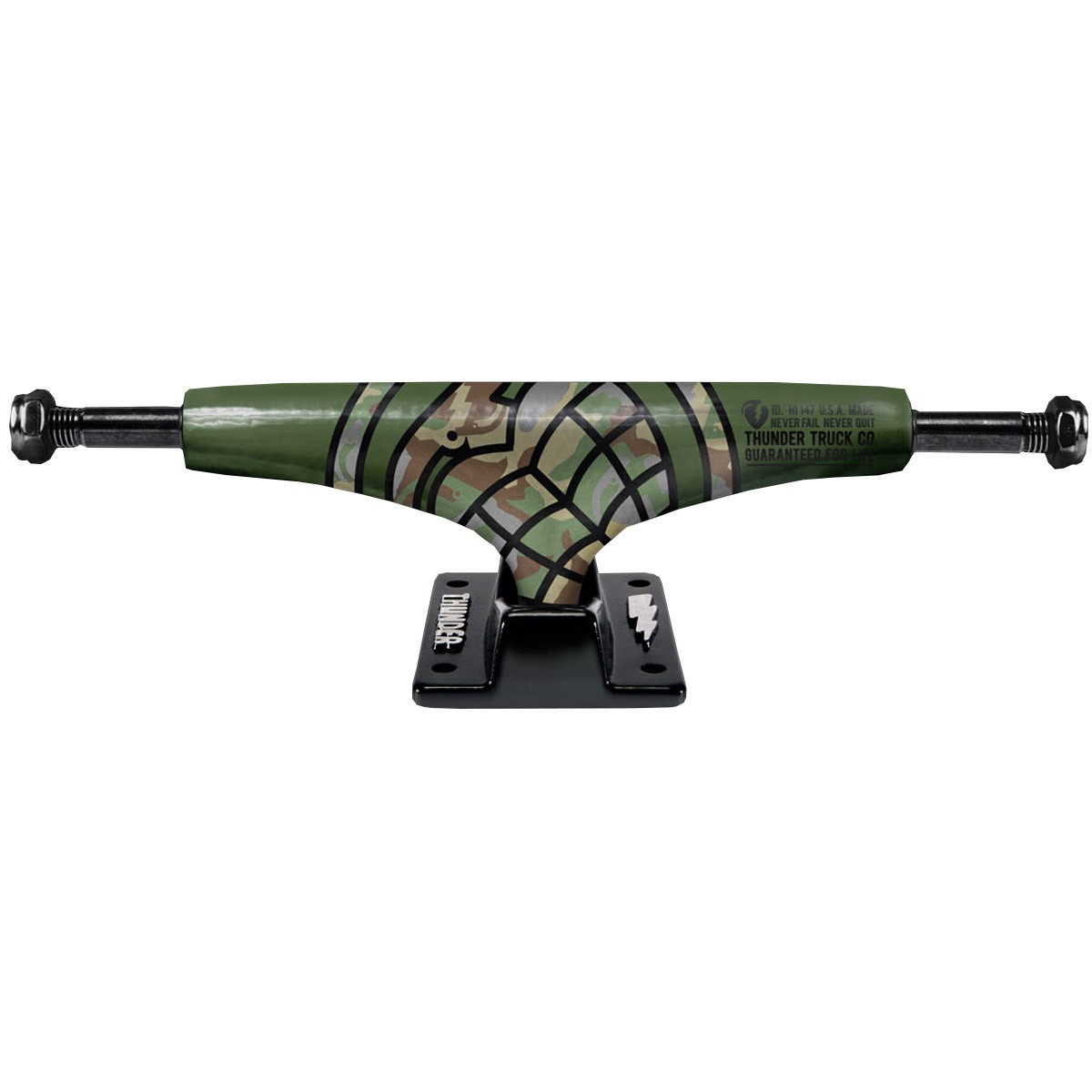 Thunder Sonora Camo G.I Lights Skateboard Trucks - HI