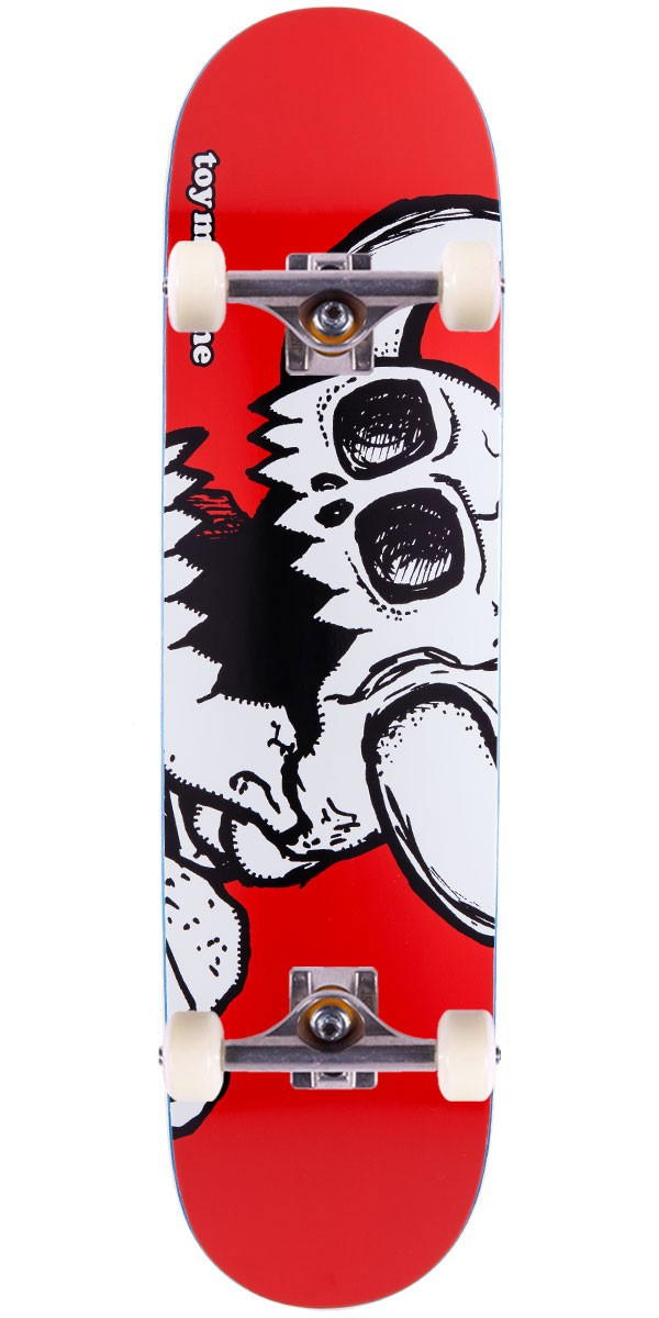Toy Machine Vice Dead Monster Skateboard Complete - Red Stain - 8.25""