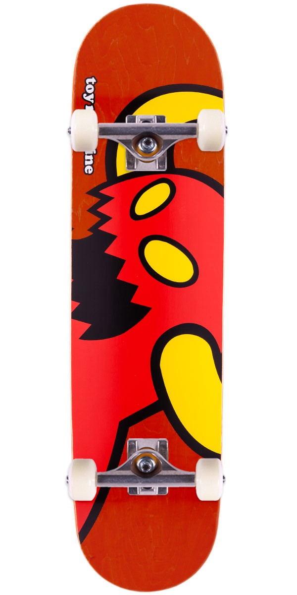 """Toy Machine Vice Monster Skateboard Complete - Red Stain - 8.125"""""""