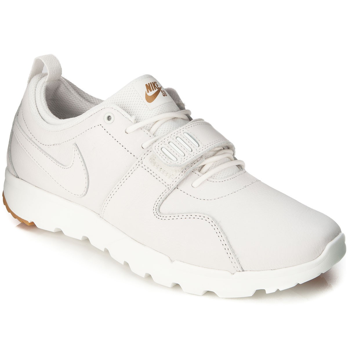 Nike Trainerendor Premium Shoes - White/Gum Light Brown/White - 13.0