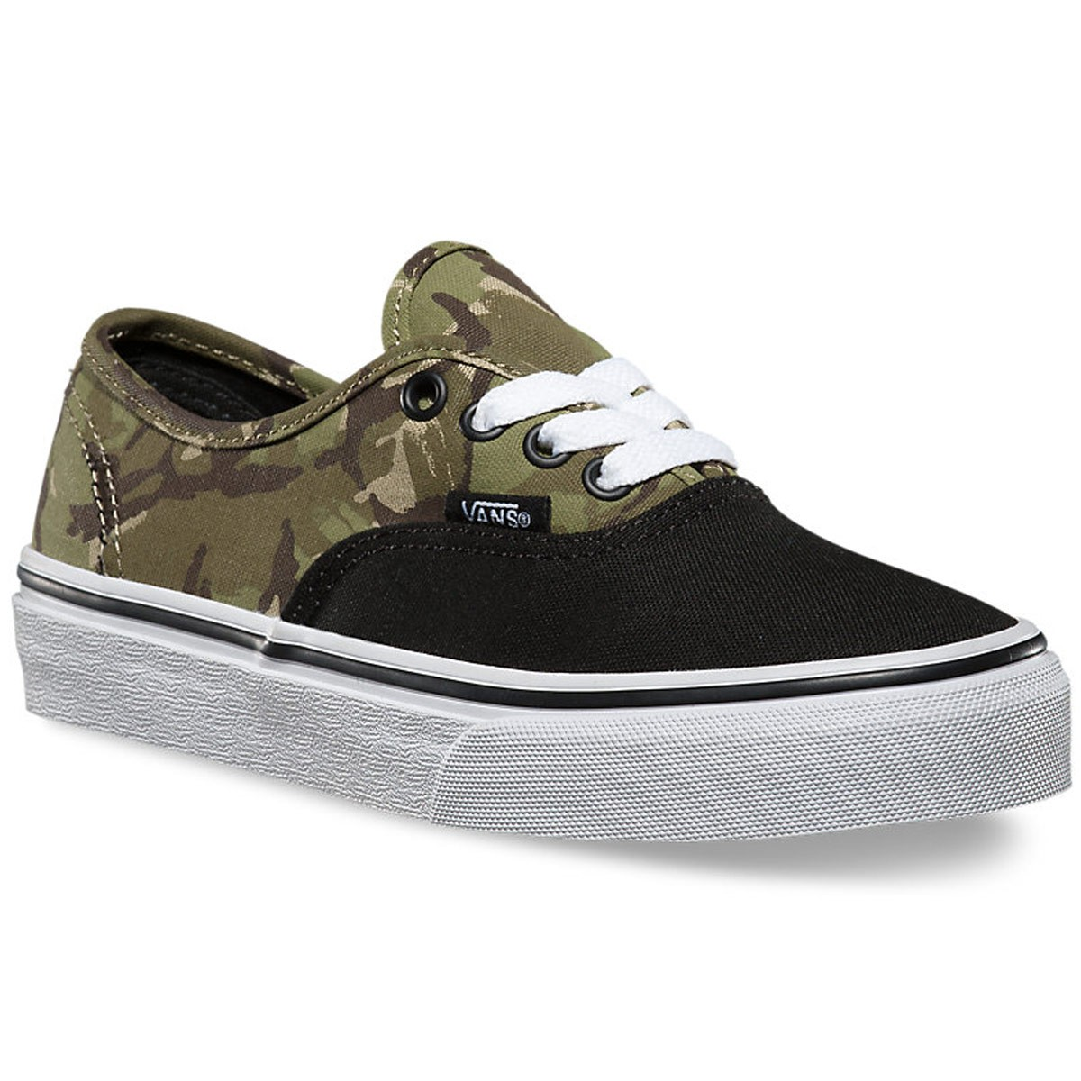 vans authentic camouflage