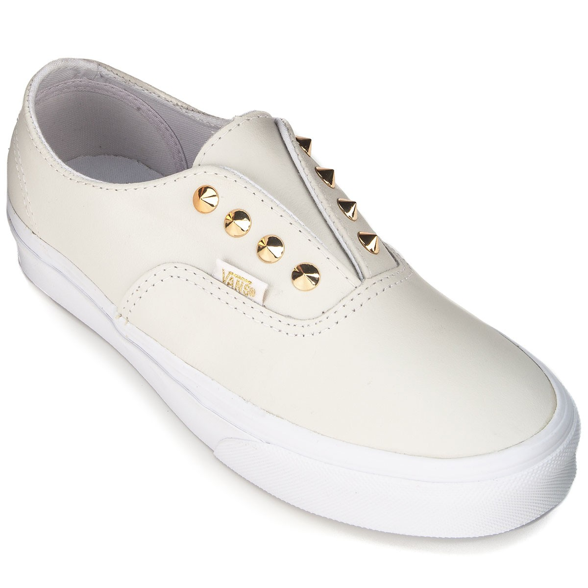 wholesale outlet e96e3 cc0f8 white leather vans authentics ... f879bc0fb