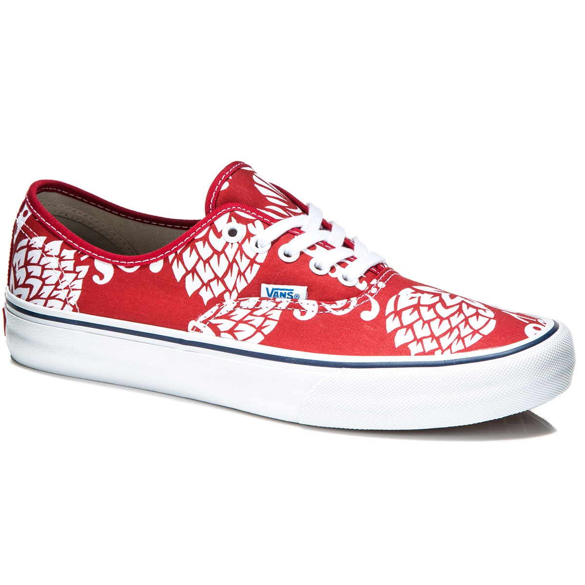 b3282ff023 Vans Authentic Pro Shoes - Duke Red White - 8.0