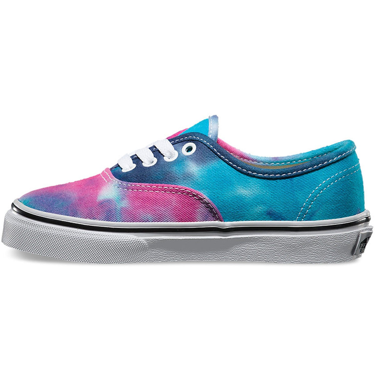 Vans Toddler Authentic Tie Dye Shoes - Pink Blue - 4Y 3ec781108b