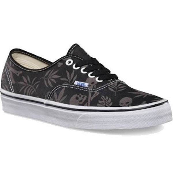 Vans Authentic Van Doren Shoes - Black Aloha - 7.0 b00214351