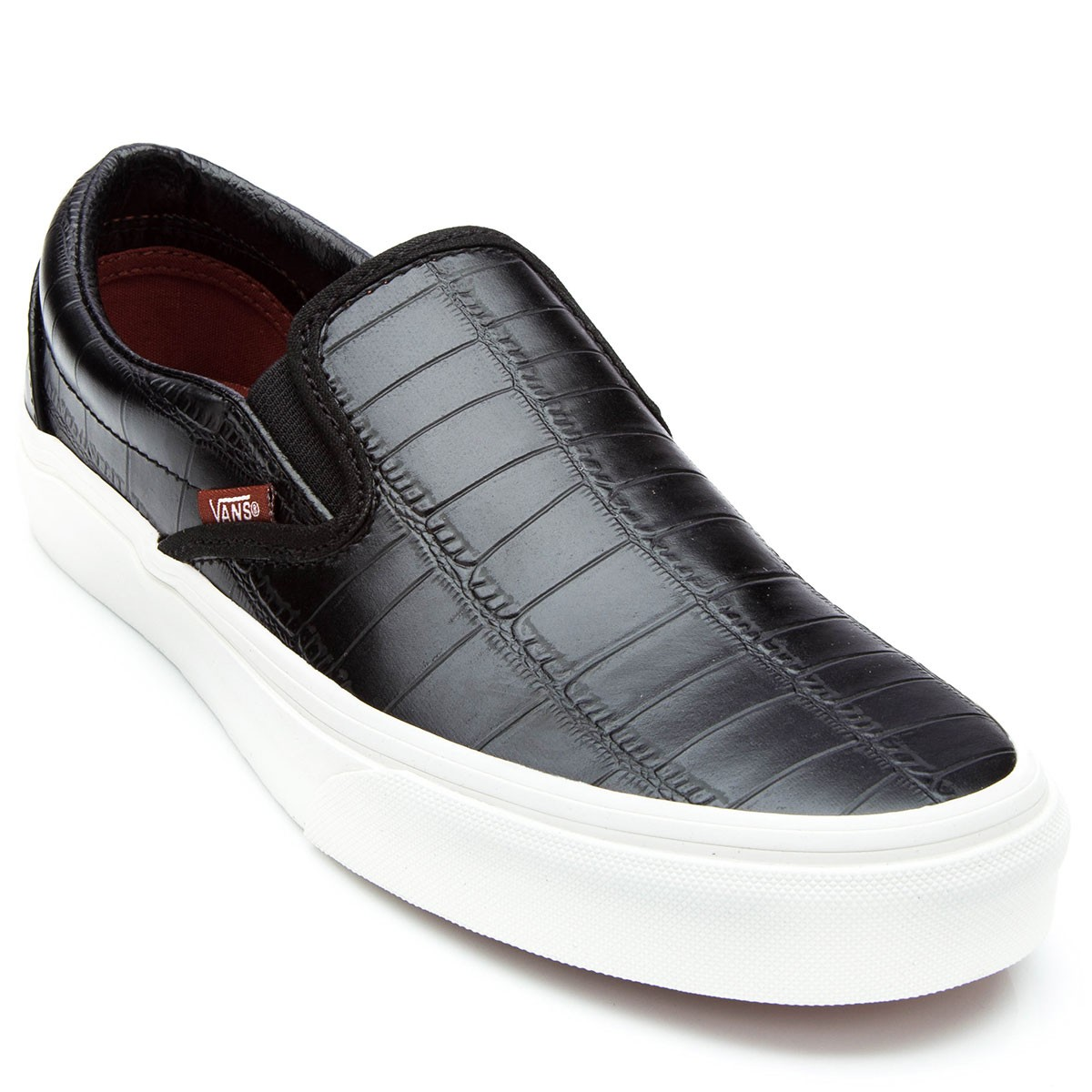 mens black slip on vans