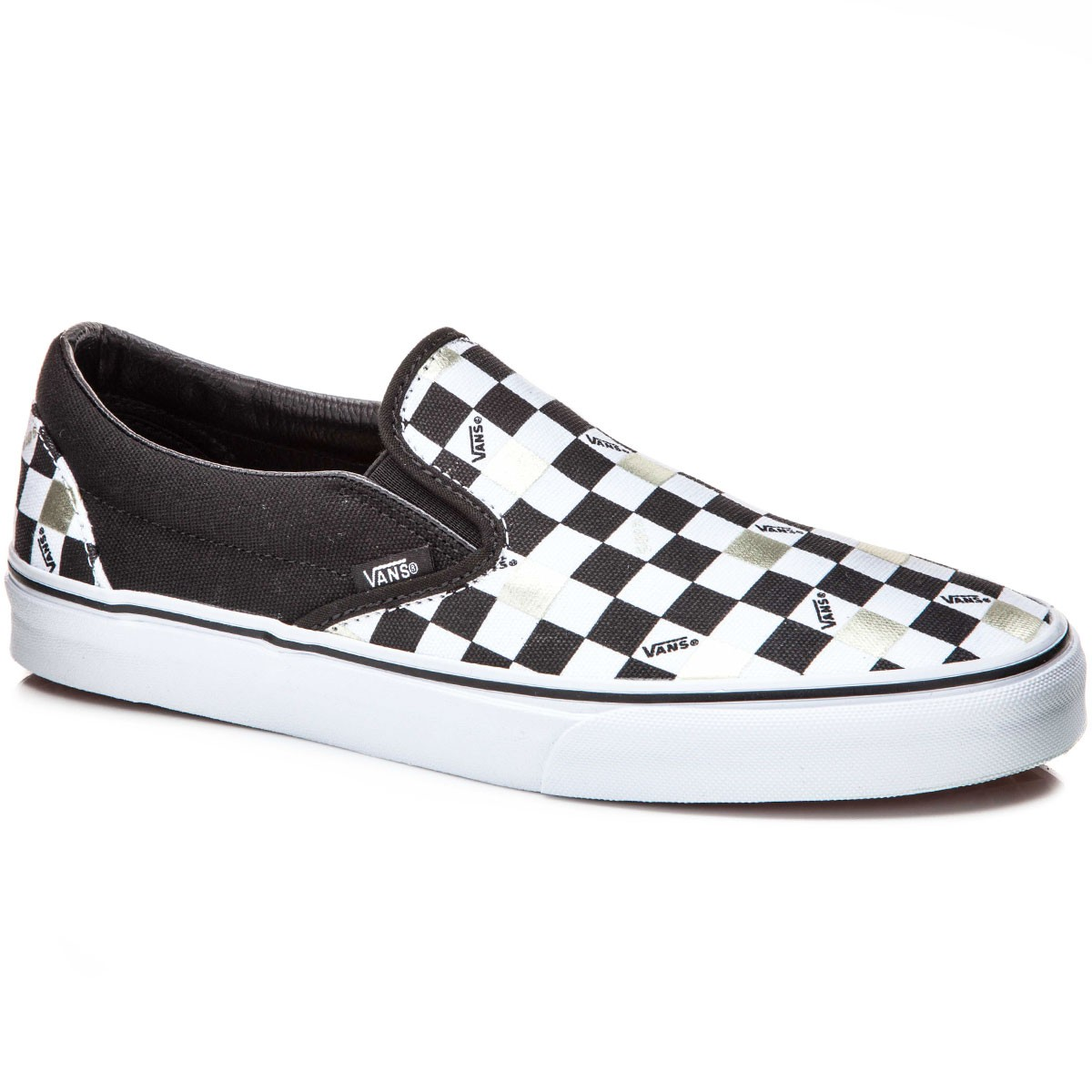 bb0ff8a8ade71a checkerboard vans slip on maroon and gold