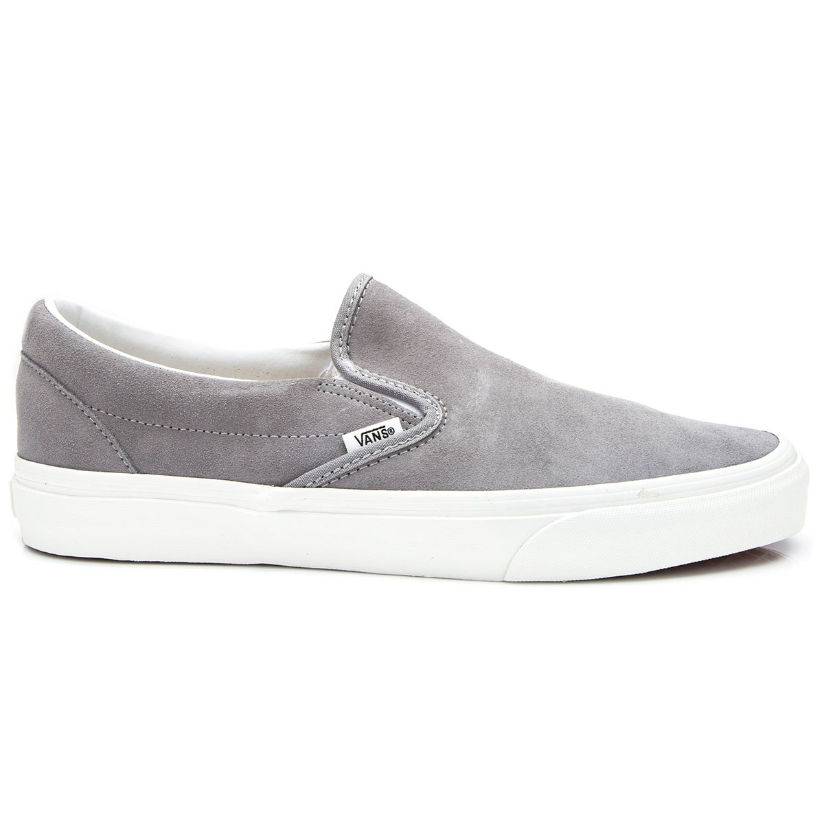 9bb6a831ce9b8d Vans Classic Slip-On Vintage Shoes - Frost Grey Blanc - 6.0
