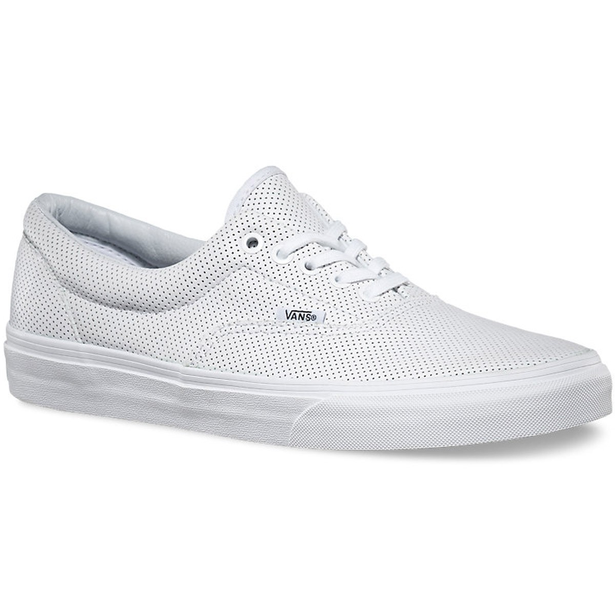 2ab19ac5f283 Vans Era Perforated Leather Shoes - True White - 6.0