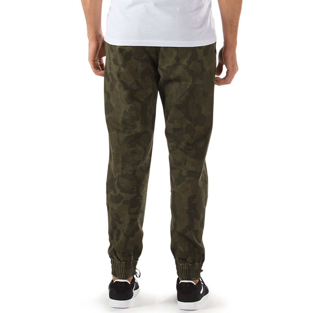 f0c1740243 Vans Excerpt Pegged Chino Jogger Pants - Bubble Camo