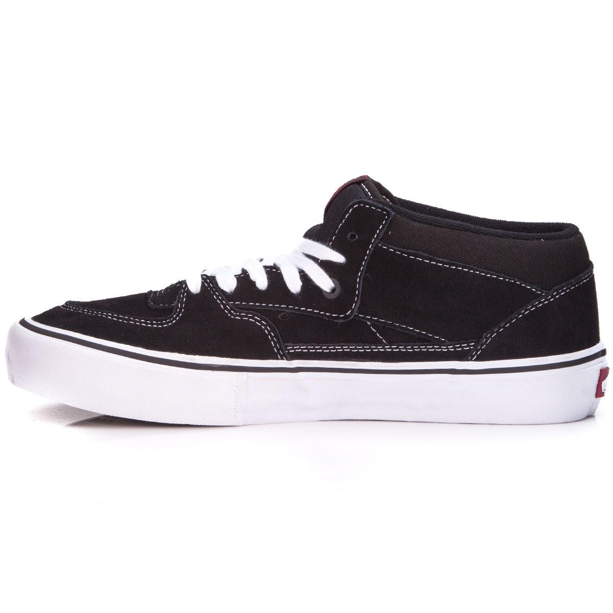 34049ee00f Vans Half Cab Pro Shoes - Black White Red - 8.0