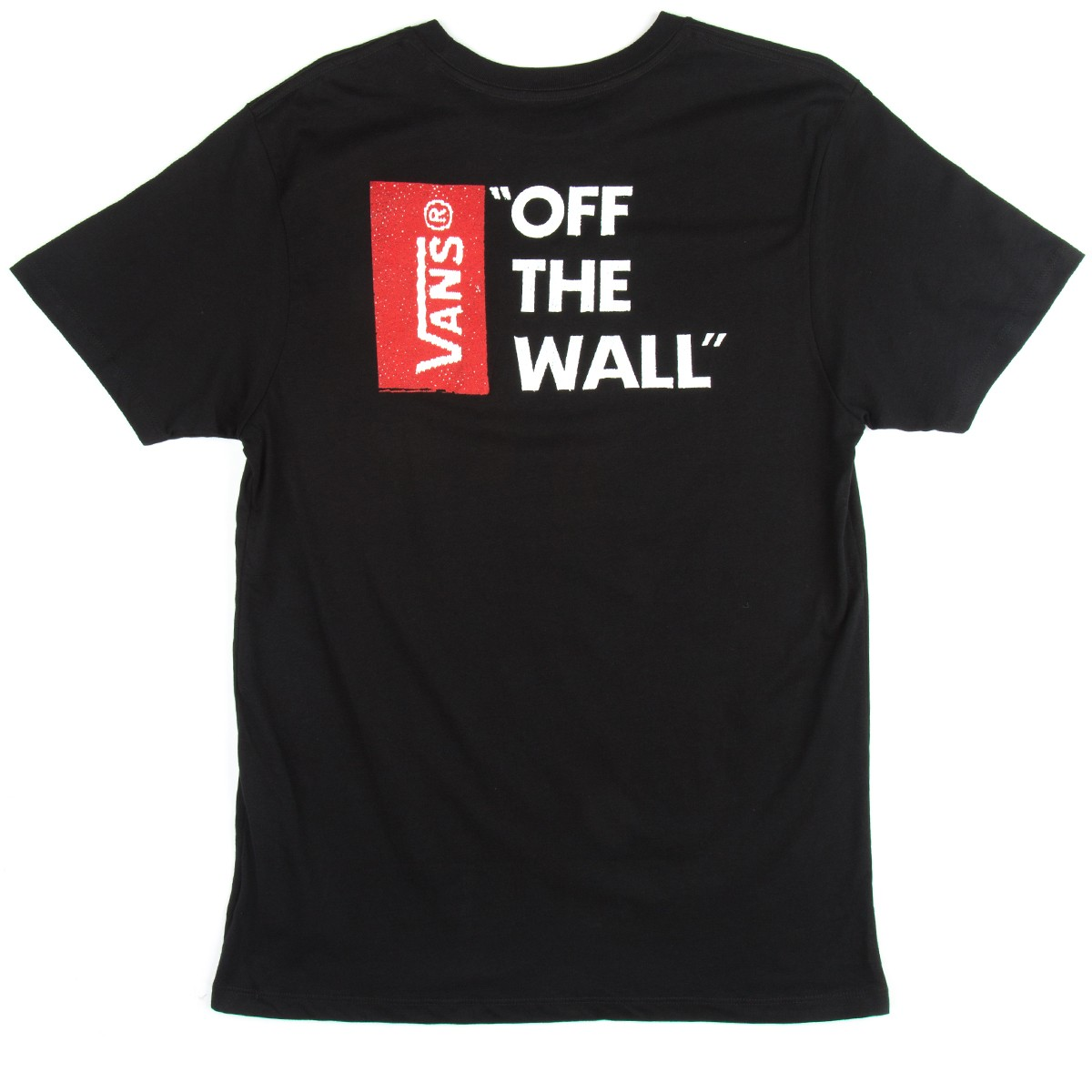 3290d56040 Vans Off The Wall III T-Shirt - Black